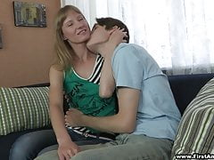 18 Videoz - Sonja - First one to give her anal