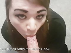 Notagirldk - Danish Crossdresser sucking cock cuz why not