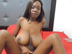 Hot black saggy tits #11