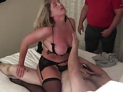 Cuck wife has intense orgasms