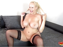 GERMAN SCOUT - HUGE NATURAL TITS TEEN WICKY PUBLIC CASTING
