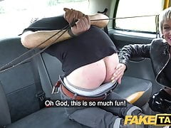 Fake Taxi Tables are turned on horny dominatrix by big cock