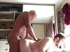 Older & younger men make love (1)