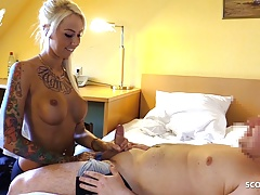 Tini Dick Nerd Guy Fuck Hot German Tattoo Teen Anni at Work