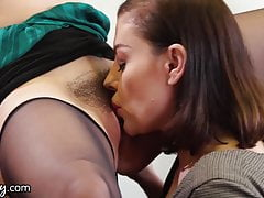 Office Ladies Fuck Together To Gather Lesbian Information