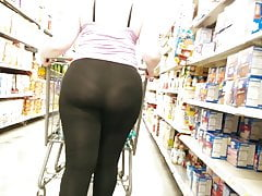 Pawg Seethru Leggings, Epic showoff...