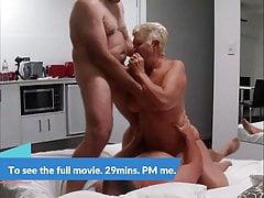 Libby Enjoys 2 Cocks. The Movie. Preview.