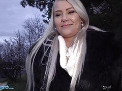 Public Agent, Outdoor Blowjob & Basement Fuck for Big Tits