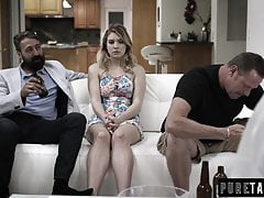Teen Giselle Palmer Caught Fucking Her Dad's Best Friend